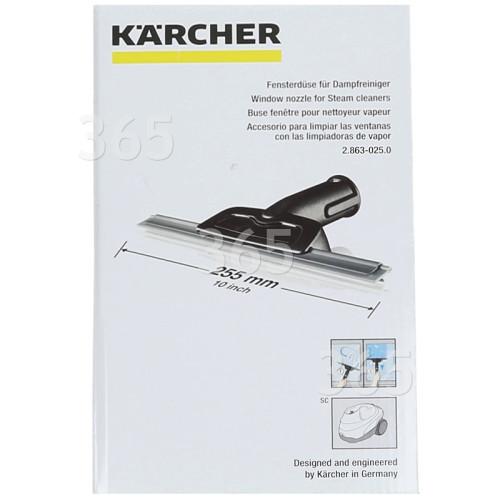 Karcher Dampfreiniger-Fensterdüse