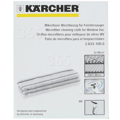 Paño De Microfibra De Limpiador De Ventana - Pack De 2 Karcher