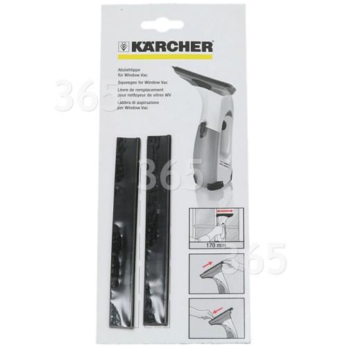 Labios De Secado De Aspiradora De Ventanas - 280mm. - Pack De 2 Karcher