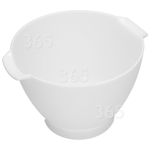 Kenwood Chef Kenlyte Runde Schüssel 4.6L-Weiß