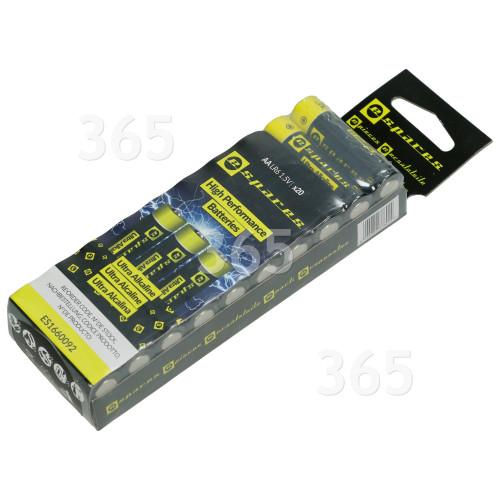 ESpares Ultra Alkalinebatterien AA LR6 - 20er Pack