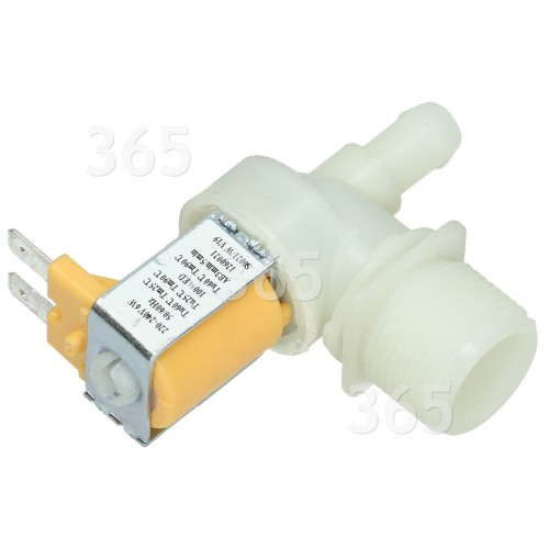 Hoover Cold Water Single Solenoid Inlet Valve : 12 Bore Outlet