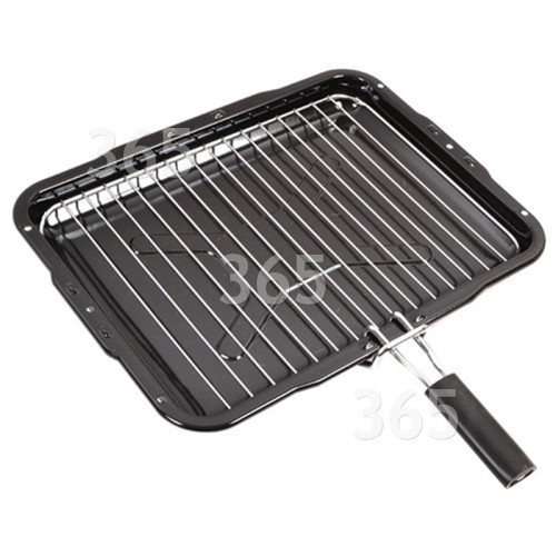 Hygena Universal Grill Pan Assembly - 385x300mm