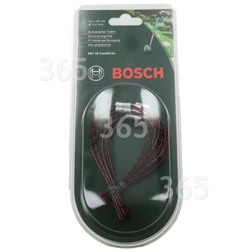 Bosch Qualcast Atco Suffolk Extra Starker Rasentrimmer-Faden (10er Packung)