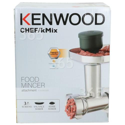 Kenwood KAX950ME Küchenmaschinen-Fleischwolfaufsatz (für Maschinen Mit Dem Neuen Twist-Anschluss)