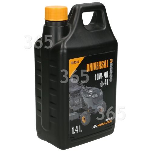 Universal Powered By McCulloch 4-Takt-Öl 10W/40 1,4 Liter