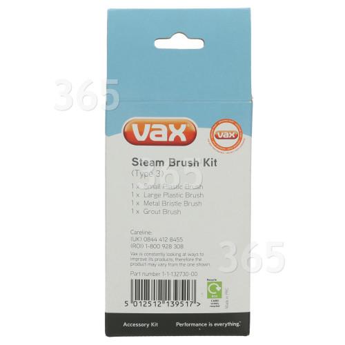 Lot De Brosses (Type 3) Vax