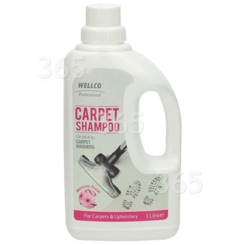 Wellco Professional Teppich Shampoo Für Reinigungsmaschinen = Blütenfrische