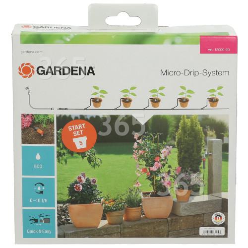 Gardena Micro-Drip-System Aktion Start Set Pflanzentöpfe S ...