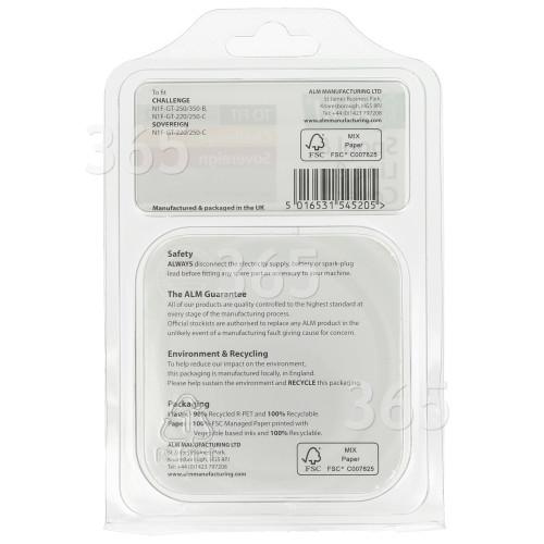 AERZETIX 4X poign/ée de tiroir Placard Porte Meuble Armoire Vardar Noir 192mm C41609