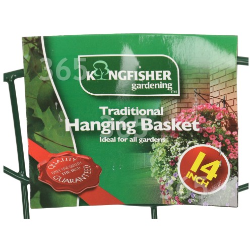 Kingfisher 14 Zoll Hängekorb