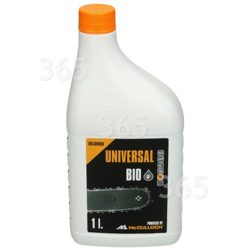 Universal Powered By McCulloch OLO008 Bio Kettenöl - 1 Liter
