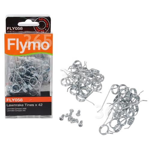Púas De Escarificador - FLY058 - Pack De 42 Flymo