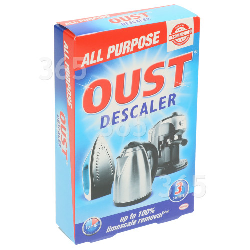 Oust All Purpose Descaler : Kettle, Iron, Coffee Maker (Pack Of 3)