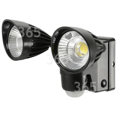 Batteriebetriebenes LED-Doppelflutlicht Mit Bewegungssensor
