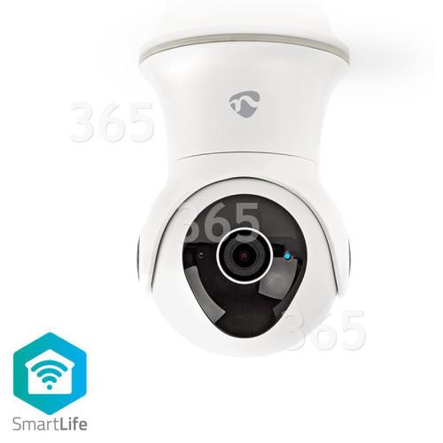 Caméra De Sécurité Smart Extérieure 1080P IP Panoramique Et Inclinable Nedis