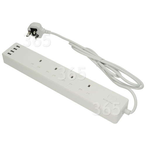 TCP Smart WiFi 4-Steckdosen-Verlängerungskabel - GB Stecker