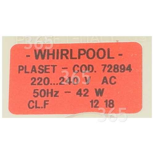 Pompe De Vidange De Lave-vaisselle : Plaset 72894 (64747) ADP 7611 Whirlpool