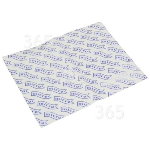 Numatic Universal Mikrofilter Für Staubsauger; Zuschneidbar