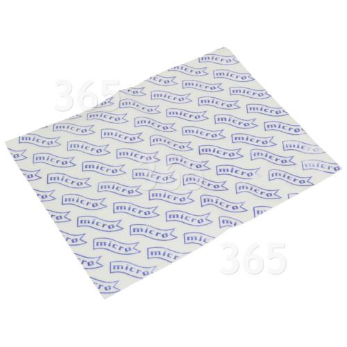 Universal Staubsauger-Mikrofilter : 255x205mm (zuschneidbar)