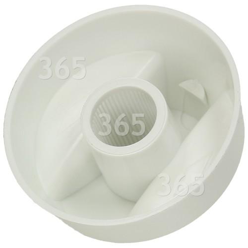 Bouton De Commande Universel Multifonctions Pour Cuisinière - Blanc -