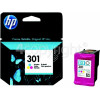 Hewlett Packard Genuine No.301 Tri-Colour Ink Cartridge (CH562EE)