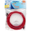 Wpro Hot Water Inlet Hose