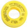 P. T. F. E. Gas Thread Sealing Tape