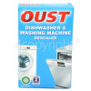 Oust 0722044357(00) Descaler: Dishwasher & Washing Machine (2 X 50ml Sachets)