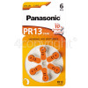 Panasonic PR13 Hearing Aid Battery