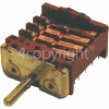 Hotpoint Oven Function Selector Switch (Main Oven) - EGO 42.03400.007