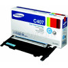Samsung Genuine CLTC4072S Cyan Toner Cartridge