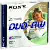 Sony 8cm DVD-RW Rewritable Disc In Jewel Case (Pack Of 3)