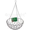 """Kingfisher 14"""" Hanging Basket"""