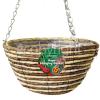 """Kingfisher 12"""" Rope Hanging Basket"""
