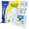 Miele C1 Compact GN 3D Filter-Flo Synthetic Dust Bags (Pack Of 4 With 2 Cut To Size Filters) - BAG338