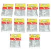 Wellco 5mm Flat Cable Clips (10 Packs)