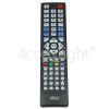 Hitachi Compatible With RC1912, RC4822, RC4845 TV Remote Control
