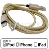 Apple iPad Air 1.0m Lightning Cable - Gold
