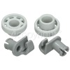 Bosch Dishwasher Upper Basket Wheel - Pack Of 2