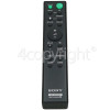 Sony RMT-AH100U Sound Bar Remote Control