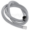 DeDietrich 2.2mtr. Drain Hose 23mm End With Right Angle End 35mm, Internal Dia.s'