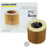 Kärcher Vacuum Cleaner Wet & Dry Cartridge Filter