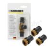Karcher Round Brush Set (Brass) - Pack Of 3
