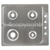 Hoover HGL64SCX Hob Top Stainless Steel