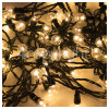 The Christmas Workshop 100 LED Warm White Berry Chaser Light Set - UK Plug