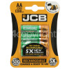 JCB AA NiMH Rechargeable Batteries