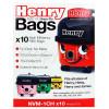 Numatic NVM-1CH 3 Layer Hepaflo Filter Dust Bag (Pack Of 10)