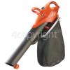Flymo Scirocco 3000 Electric Garden Vacuum/Blower