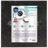 Wpro Universal 60 X 60cm Anti-Vibration Mat